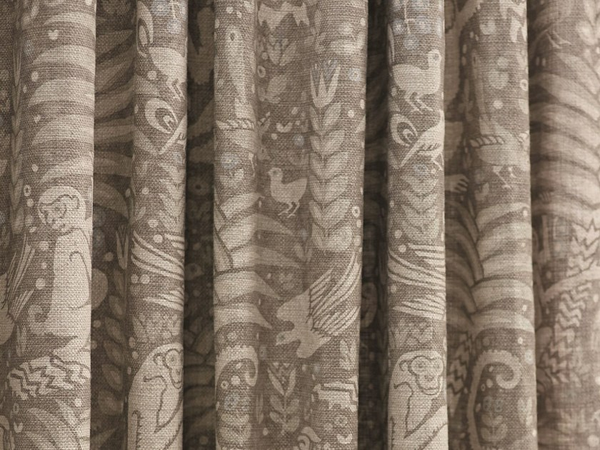 Printed fabric for curtains SAMANGO by Zimmer + Rohde
