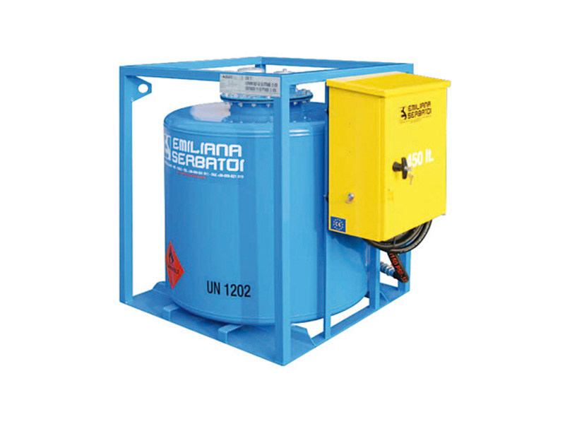 Basin, cistern and tank for water works TRASPO® TFT 450 - EMILIANA SERBATOI