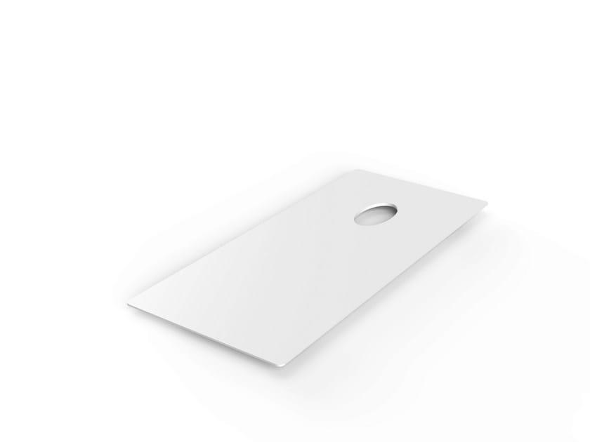 Rectangular Corian® coffee table LOW | Corian® coffee table - VITEO
