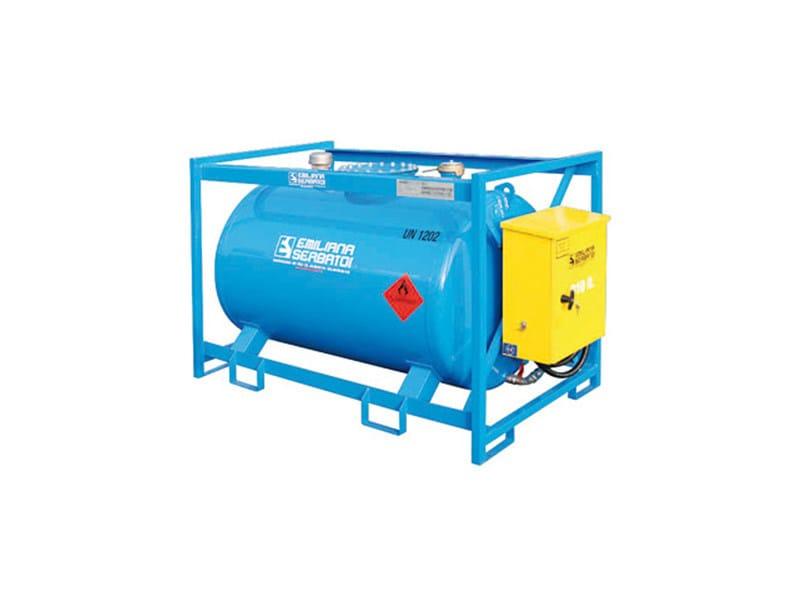 Basin, cistern and tank for water works TRASPO® TFT 910 - EMILIANA SERBATOI