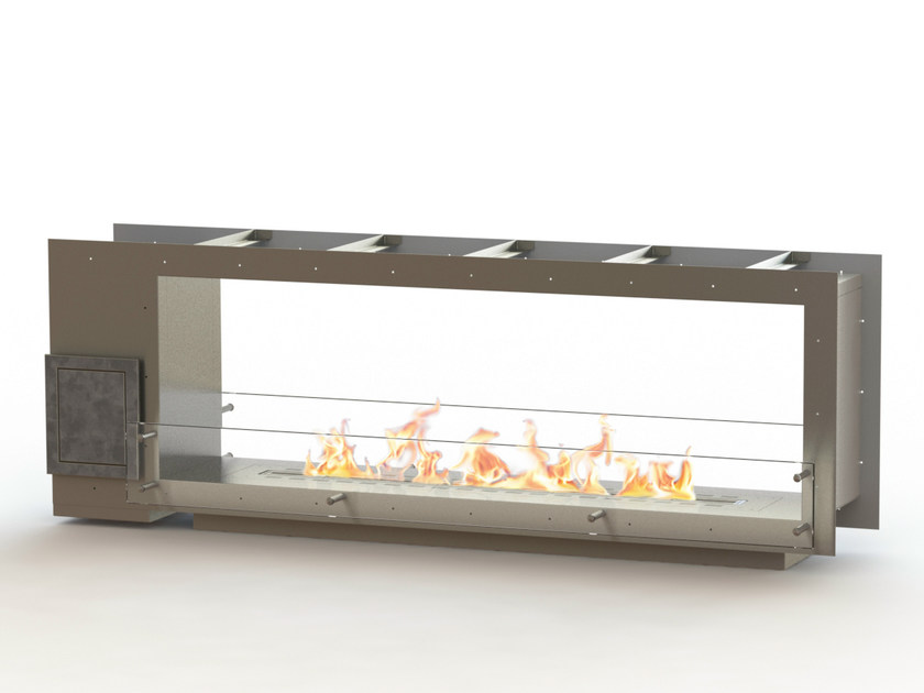 Open built-in bioethanol fireplace GLAMMBOX 1600 DF CREA7ION - GlammFire