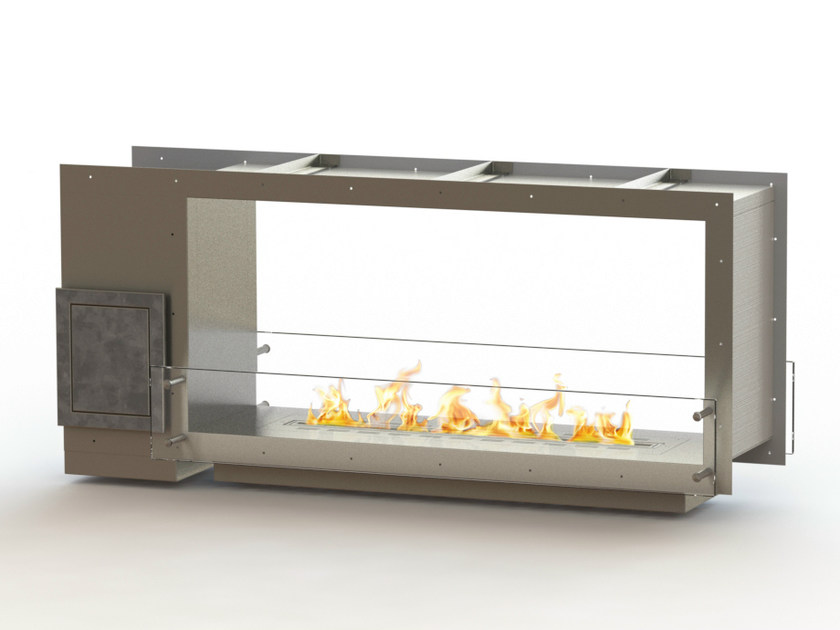 Open built-in bioethanol fireplace GLAMMBOX 1150 DF CREA7ION by GlammFire
