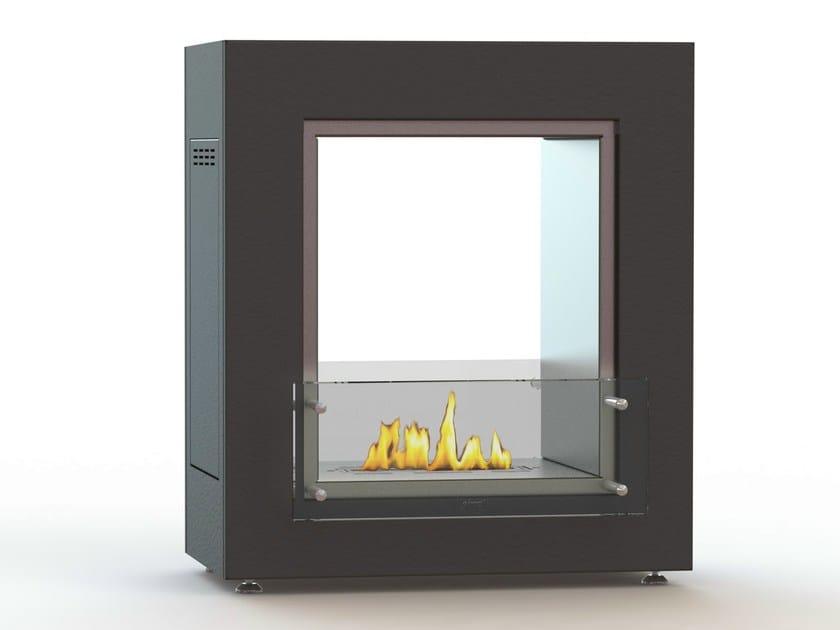 Open freestanding bioethanol fireplace MUBLE 700 DF CREA7ION - GlammFire
