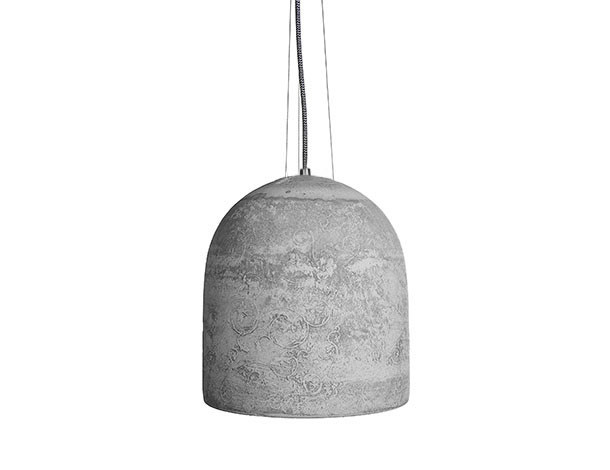 Concrete pendant lamp HEDERA - URBI et ORBI