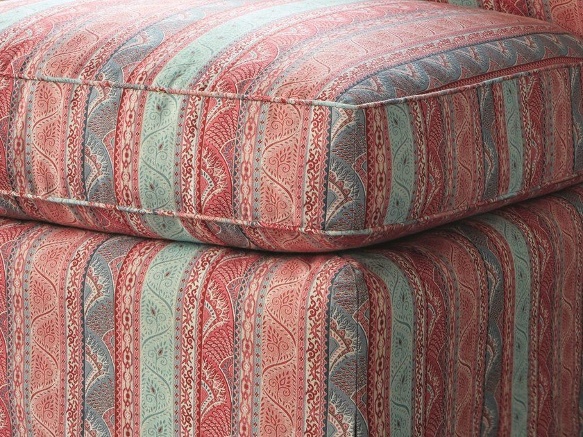 Striped multi-colored upholstery fabric ST. SIMON by Zimmer + Rohde