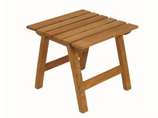Teak garden stool BALI | Stool - FISCHER MÖBEL