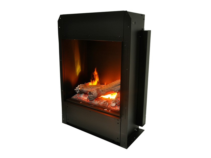 Electric built-in fireplace with remote control KIT GLAMM H3D 700 by GlammFire