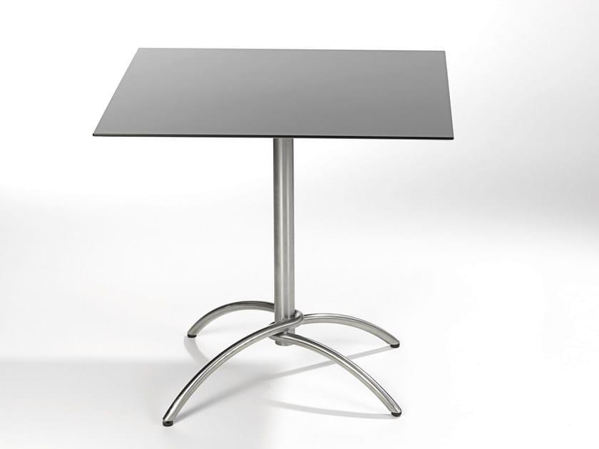 Folding square table TAKU | Folding table - FISCHER MÖBEL