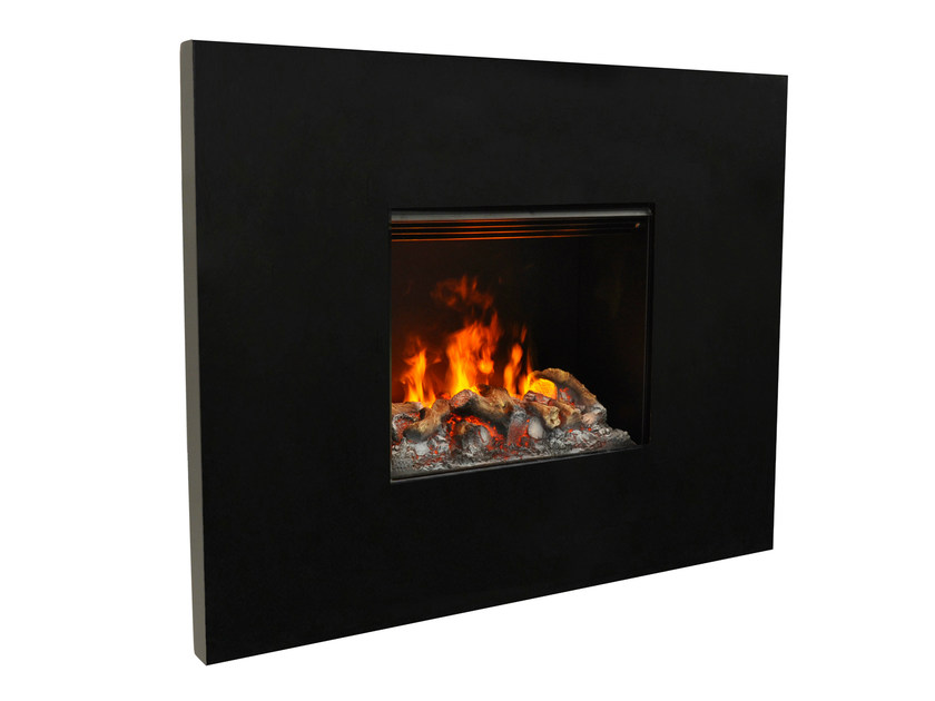 Electric built-in fireplace with remote control SENSES II 3D - GlammFire