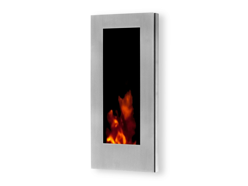 Electric wall-mounted fireplace with remote control GL 400 - GlammFire