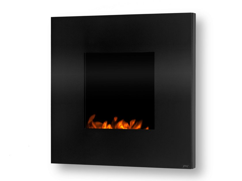 Electric wall-mounted fireplace with remote control GL 800 - GlammFire