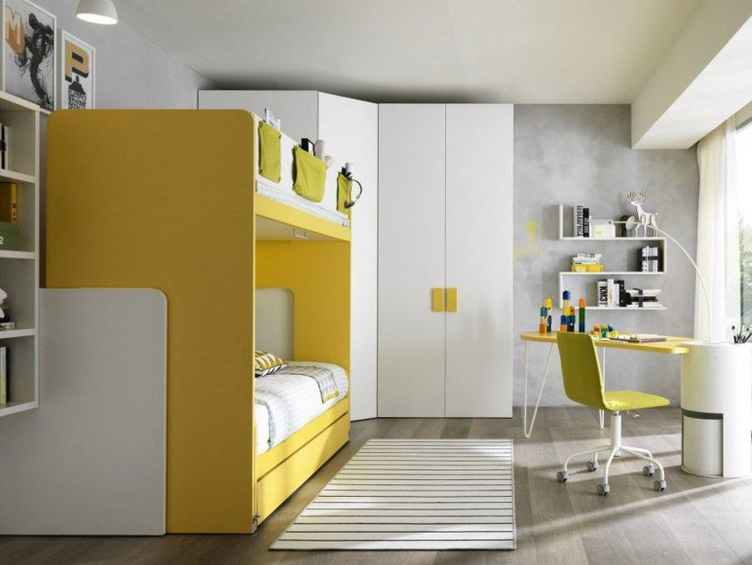 Teenage bedroom with bunk beds Z327 - Zalf