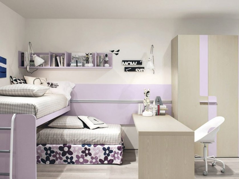 Teenage bedroom with bunk beds Z317 - Zalf