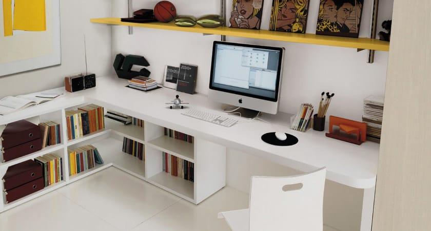 Cameretta per ragazzi z308 zalf - Ikea scrivanie per camerette ...