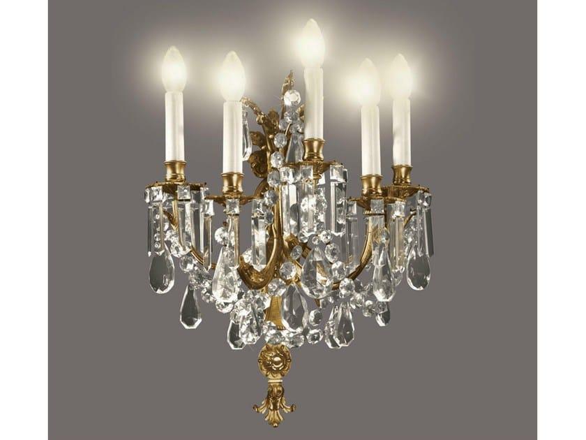 Crystal wall light 24516 | Wall light - Tisserant