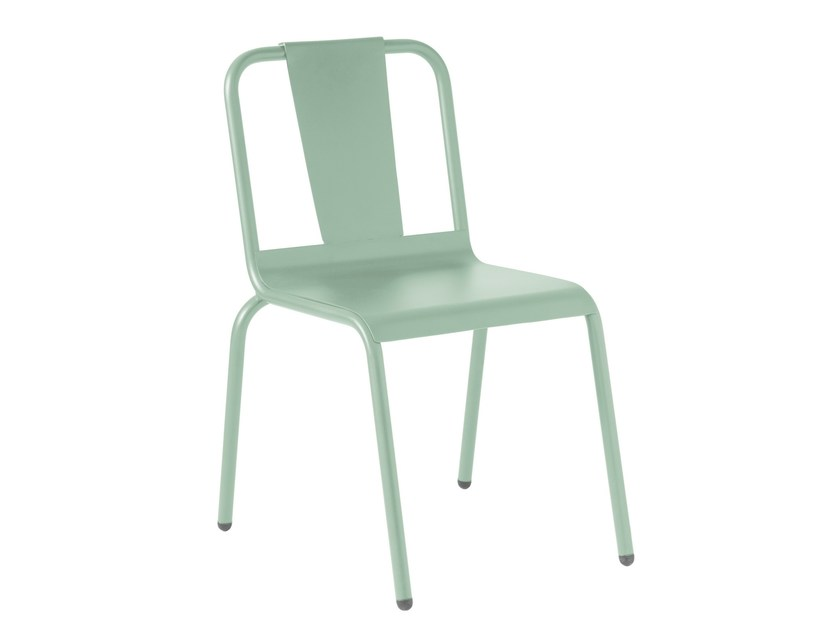 Lacquered aluminium garden chair NAPOLES | Lacquered chair - iSimar