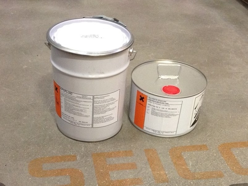 Structural adhesive EPOFLUID by Seico Compositi