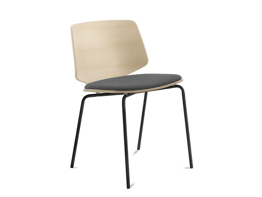 Multi-layer wood chair FLY-B by DOMITALIA