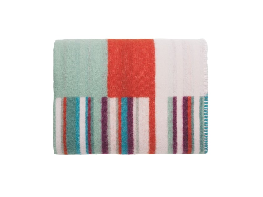 Striped merino wool blanket ORIGO | Blanket - iittala