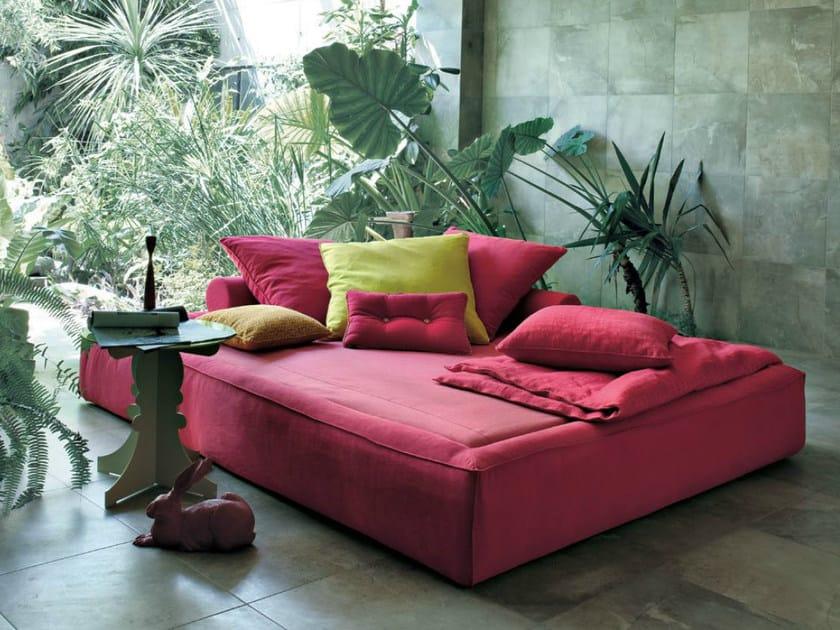 Fabric bed / garden bed ACADEMY PIUMA SOMMIER - Twils