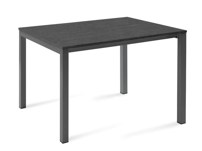 Extending rectangular table WEB-120 - DOMITALIA