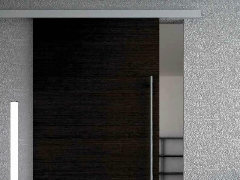 Metal sliding door track Evolution Mini Soft-close V-5440 - Metalglas Bonomi