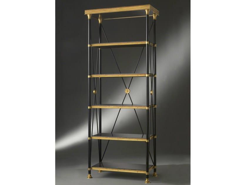 Freestanding bronze bookcase 41846 | Bookcase - Tisserant