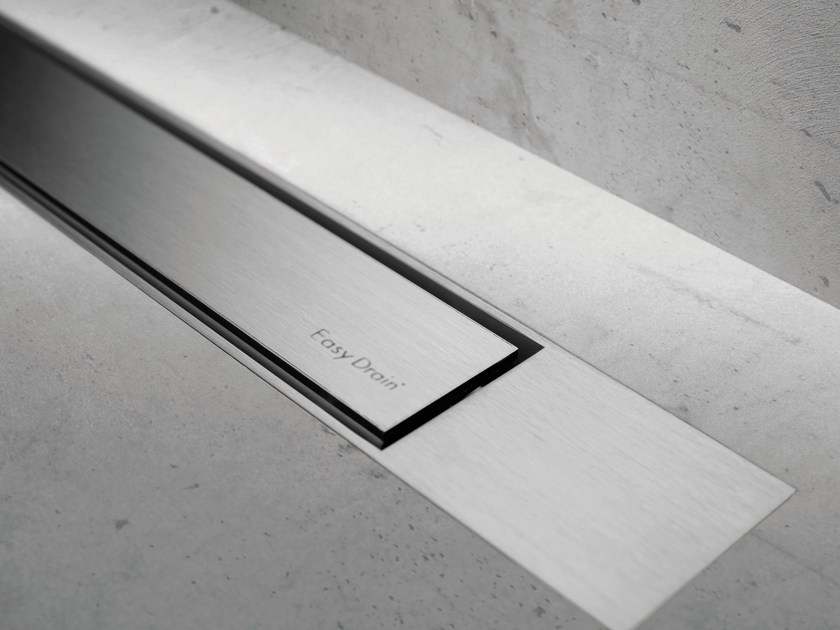 Metal shower channel MODULO DESIGN Z-2 BRUSHED + BRUSHED by ESS Easy Drain