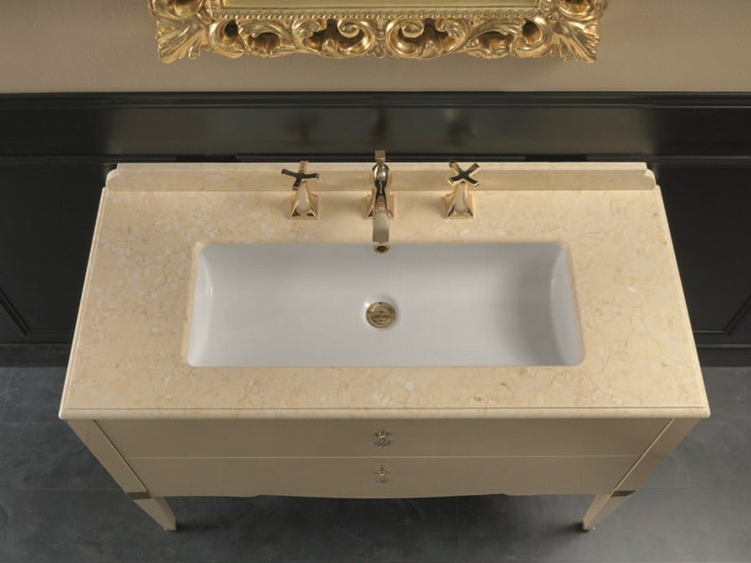 Console sink with drawers DEDALO 004 - Mobiltesino