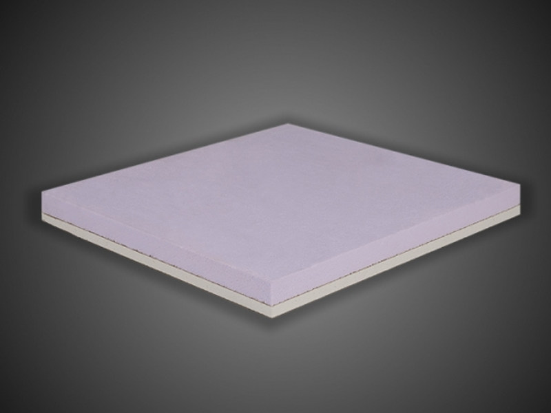 Gypsum plasterboard for thermal insulation GIBITEC® ES | XPS sandwich panel - Ediltec