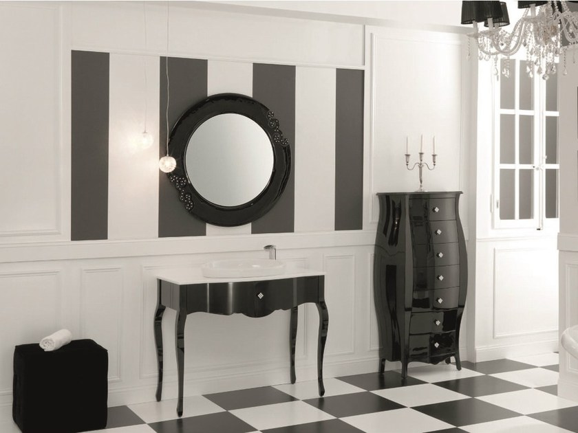 Console sink with drawers ADAM 01 by Mobiltesino