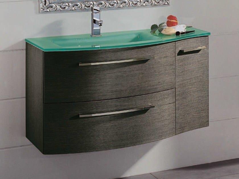 Single vanity unit with drawers F136 - Mobiltesino