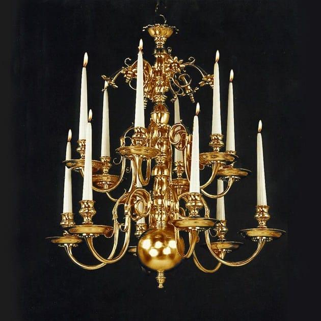 Metal chandelier 13002 | Chandelier - Tisserant