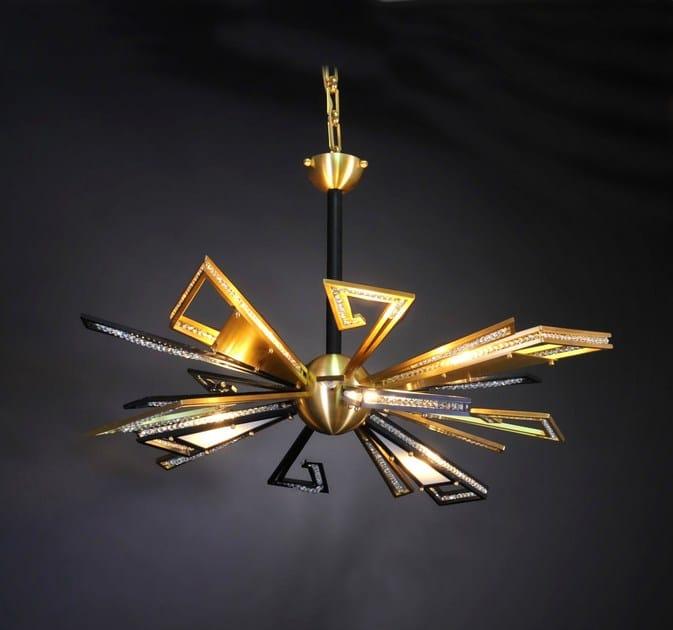 Bronze chandelier 12600 | Chandelier - Tisserant