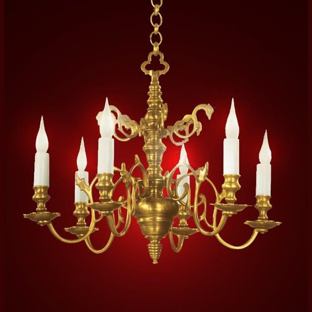 Metal chandelier 13020 | Chandelier - Tisserant