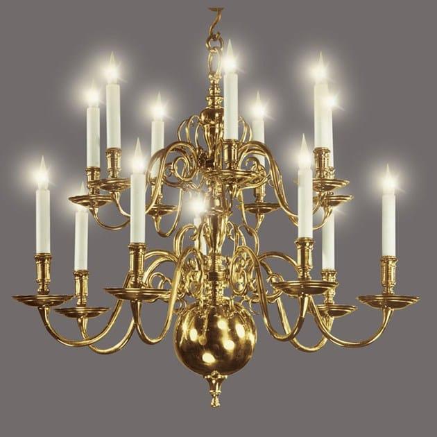 Metal chandelier 13031 | Chandelier - Tisserant