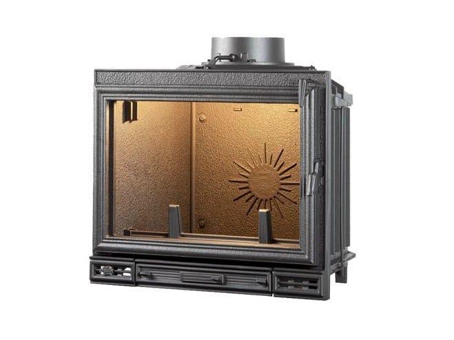Cast iron Fireplace insert with Panoramic Glass RUBIS - CHEMINEES SEGUIN DUTERIEZ