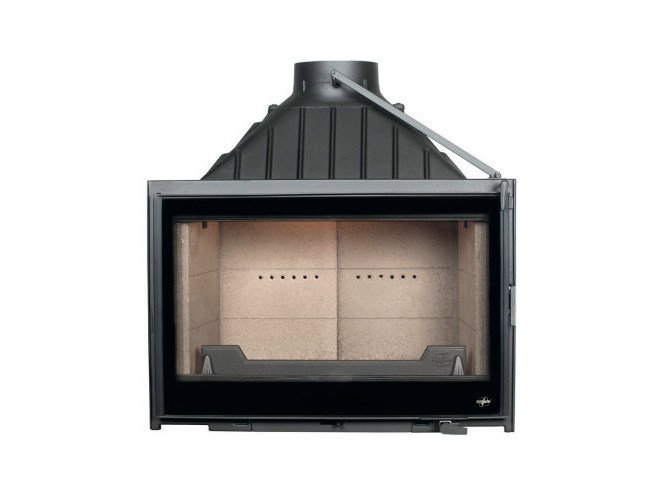 Cast iron Fireplace insert with Panoramic Glass VISIO 8 PLUS - CHEMINEES SEGUIN DUTERIEZ
