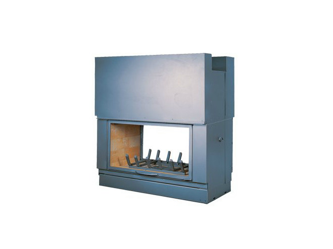 Steel Fireplace insert with Panoramic Glass DF 1200 H by CHEMINEES SEGUIN