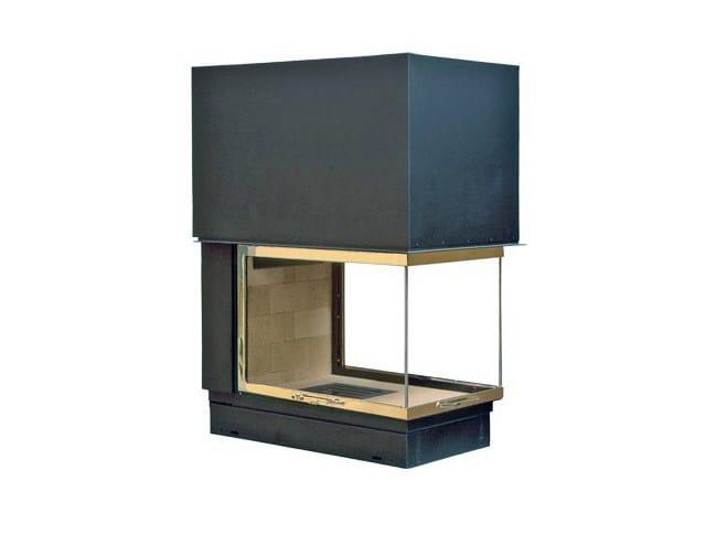 Steel Fireplace insert with Panoramic Glass EPI 950 - CHEMINEES SEGUIN DUTERIEZ