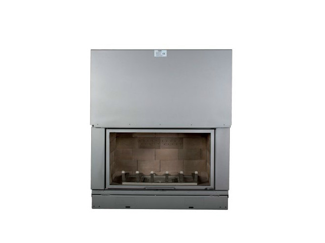 Steel Fireplace insert with Panoramic Glass F 1200 H - CHEMINEES SEGUIN DUTERIEZ