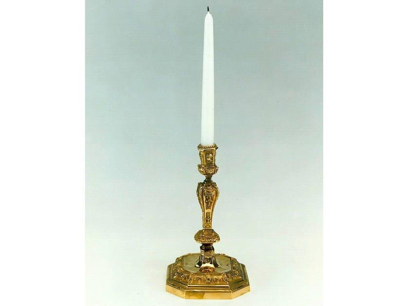 Bronze candlestick 142 | Candlestick - Tisserant