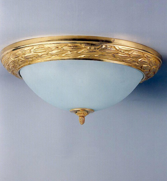 Bronze ceiling light 30510 | Ceiling light - Tisserant