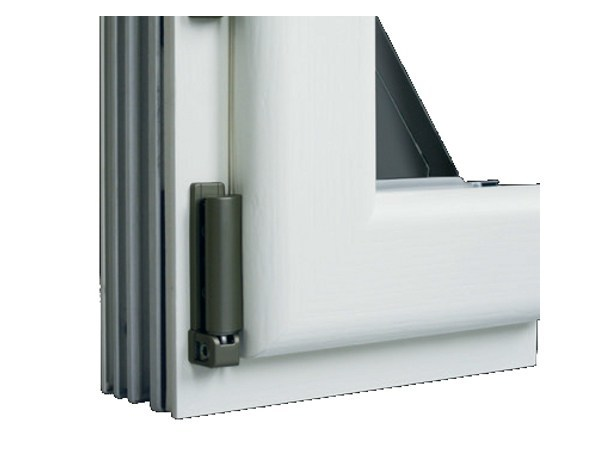 Aluminium and wood window with retractable Fibex sash Serie 502 - Agostinigroup