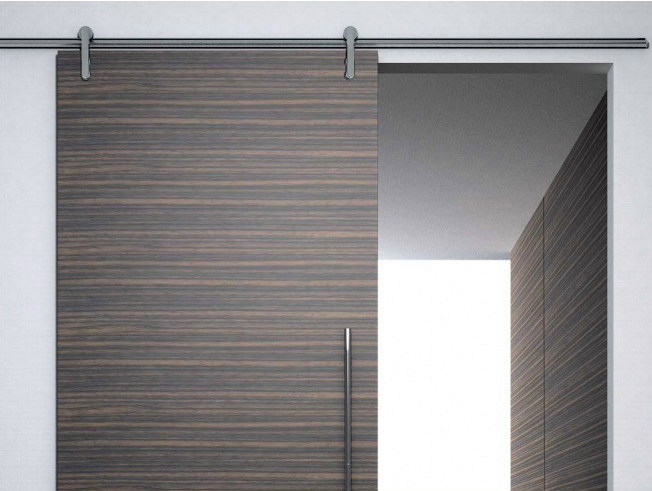 Metal sliding door track Minimal legno V-6060 - Metalglas Bonomi