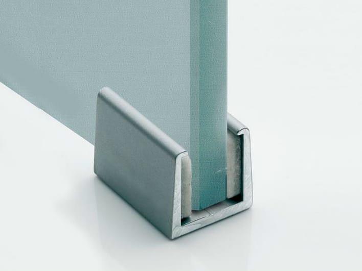 Floor guide adjustable V-012 - Metalglas Bonomi