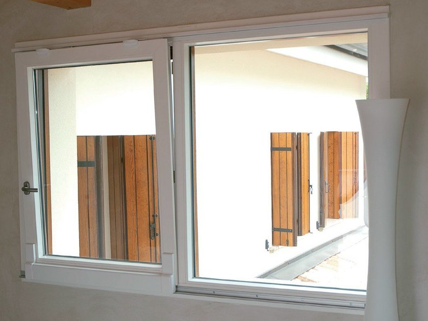 PVC tilt and slide window PVC Tilt and Slide window - Agostinigroup