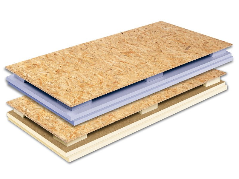 XPS Composite panel for roof ALGOPAN VENTILATO USD - XL - Ediltec