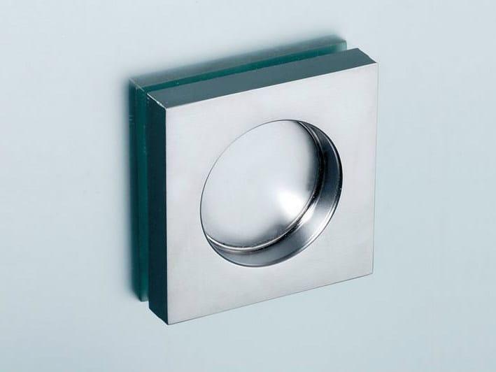 Metal glass door handle V-522 - Metalglas Bonomi