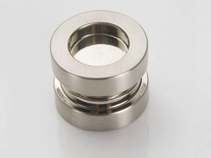 Metal glass door handle V-528 - Metalglas Bonomi